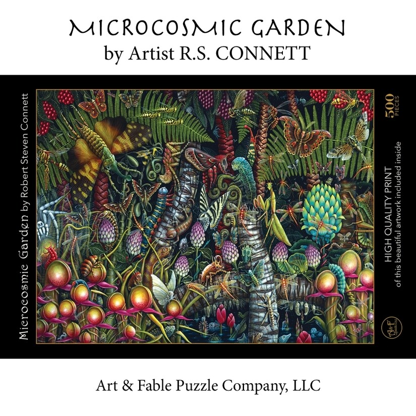 Microcosmic Garden 500 pc