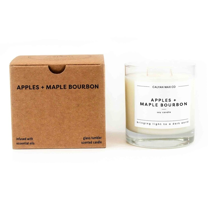 Apples + Maple Bourbon