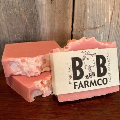 Pink Salt Soap