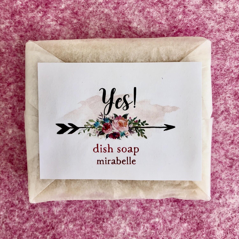Dish Soap Block, Mirabelle