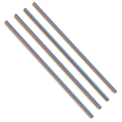 Straws, straight