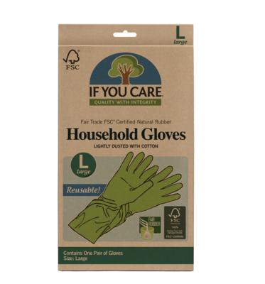 Rubber Gloves, Large