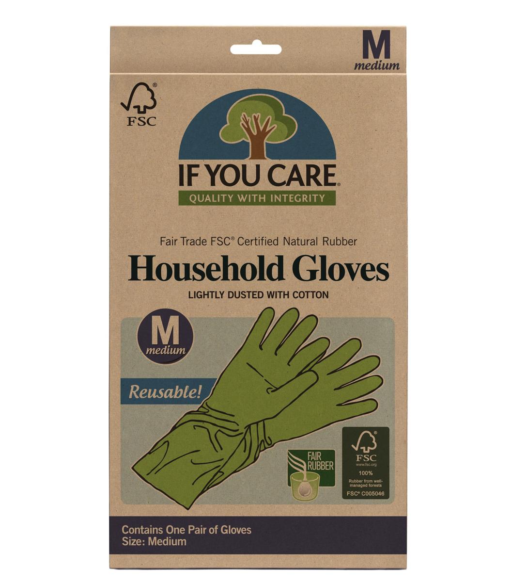 Rubber Gloves, Med
