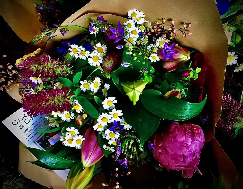 The Twelve Treats; Large Bouquet Once A Month