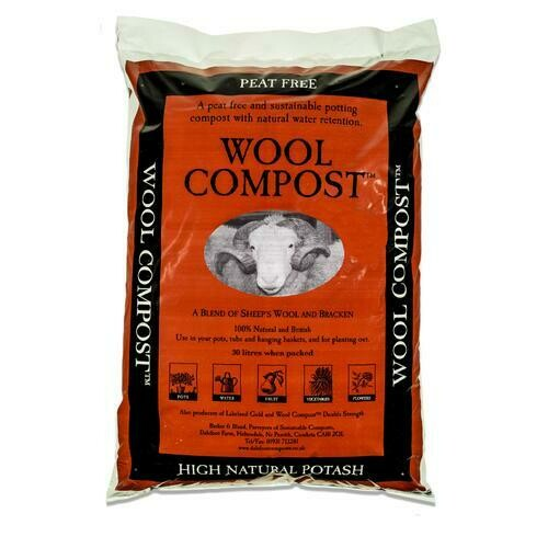 Growing media: Dalefoot potting compost 30 litres