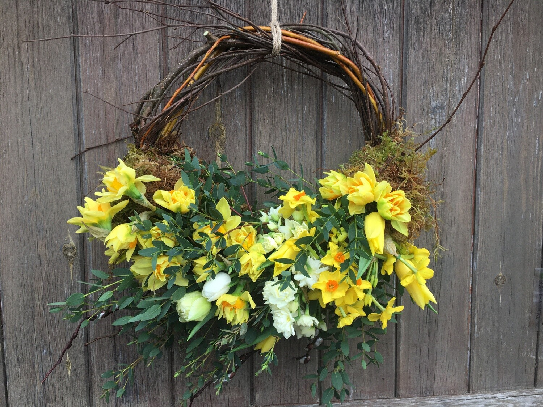 Cut Flower Wreath
