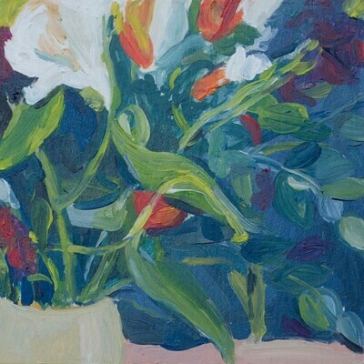 Evening Flowers 3