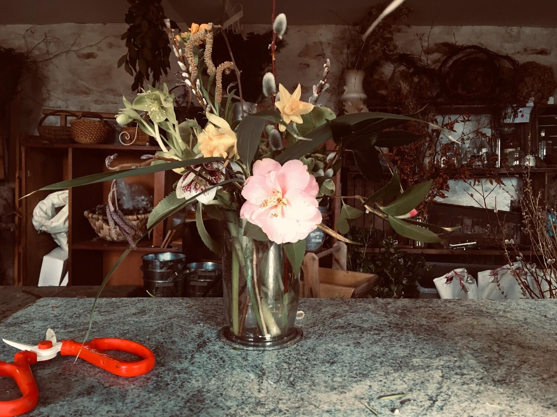 Bistro flowers - one weeks supply, Medium wrap