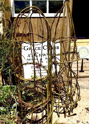 Willow plant support; medium size (approx 5 ft )