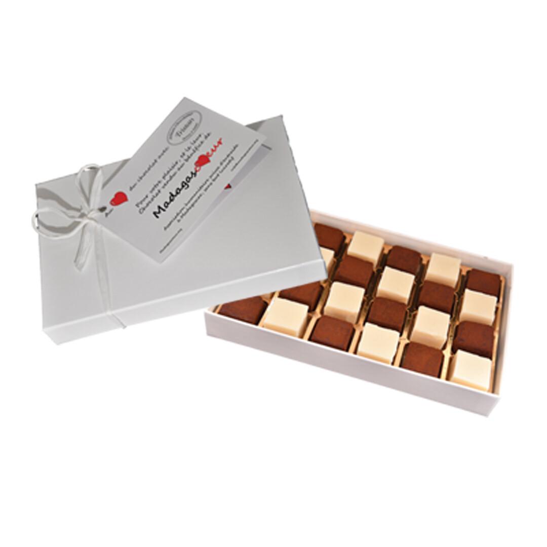 Pavés au chocolat noir et blanc (24 pièces)