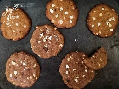 Nutty Ragi Cookies (Vegan)