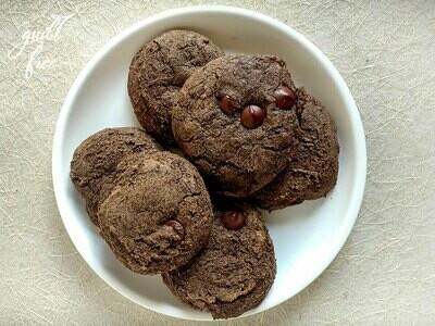 Buckwheat Choco-chip Cookies (Vegan, Gluten-Free)