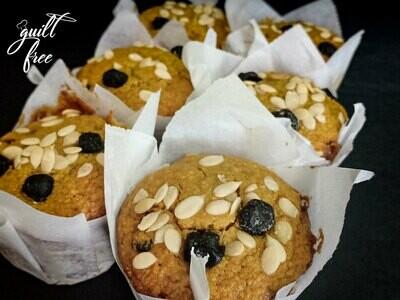 Breakfast Muffins (Eggless, Gluten-Free)