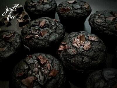 Dark Chocolate Almond Orange Muffins (Gluten-Free)