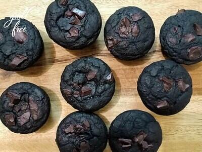 Ragi Chocolate Muffins (Eggless, Gluten-Free)
