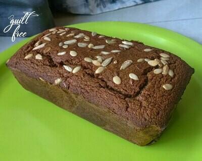 Quinoa Bread (Eggless, Gluten-Free)