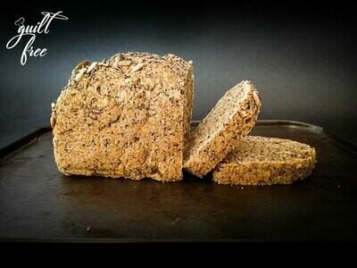 Superseeds & Nuts Bread (Vegan, Gluten Free)
