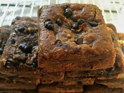 Protein Brownie (Eggless, Gluten Free)