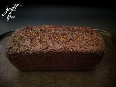 Dark Chocolate Almond Orange Loaf Cake (Gluten-Free)