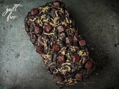 Zucchini Chocolate Loaf Cake