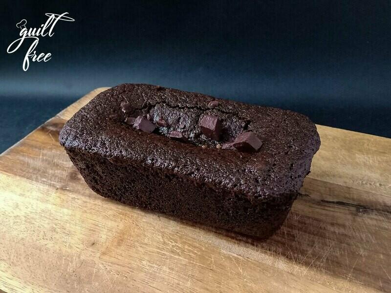 Quinoa Dark Chocolate Loaf Cake (Eggless, Gluten-Free)