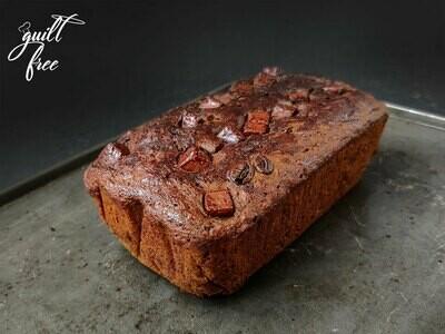 Coffee Chocolate Chip Loaf Cake (Eggless)