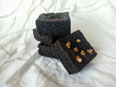 Keto Choco Walnut Brownie (Gluten-Free)