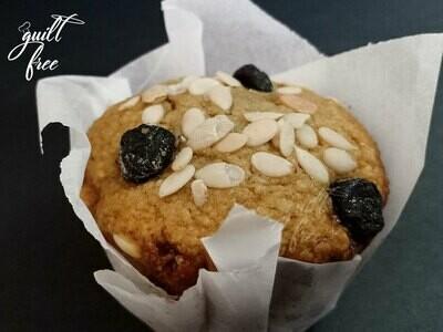 Keto Almond Blueberry Muffins (Egg, Gluten-Free)