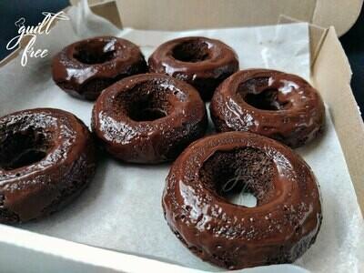 Mocha Chocolate Donuts (Eggless, Gluten-Free)