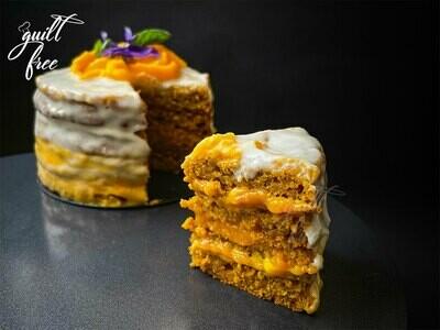 Mango Cream Cheese Cake (Eggless)