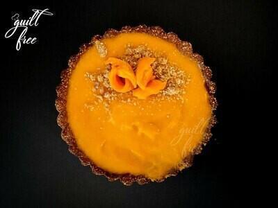 Mango Tart (Eggless, Gluten-Free)