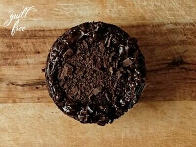 Zucchini Chocolate Cake with Chocolate Ganache