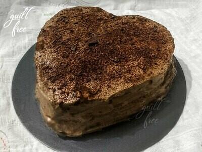 Cappuccino Cake (Eggless)
