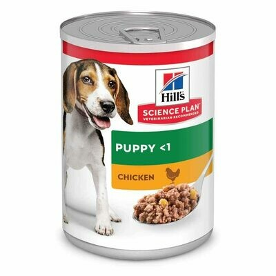 Hill's Science Plan Puppy & Pregnant Wet Food Chicken Flavour
