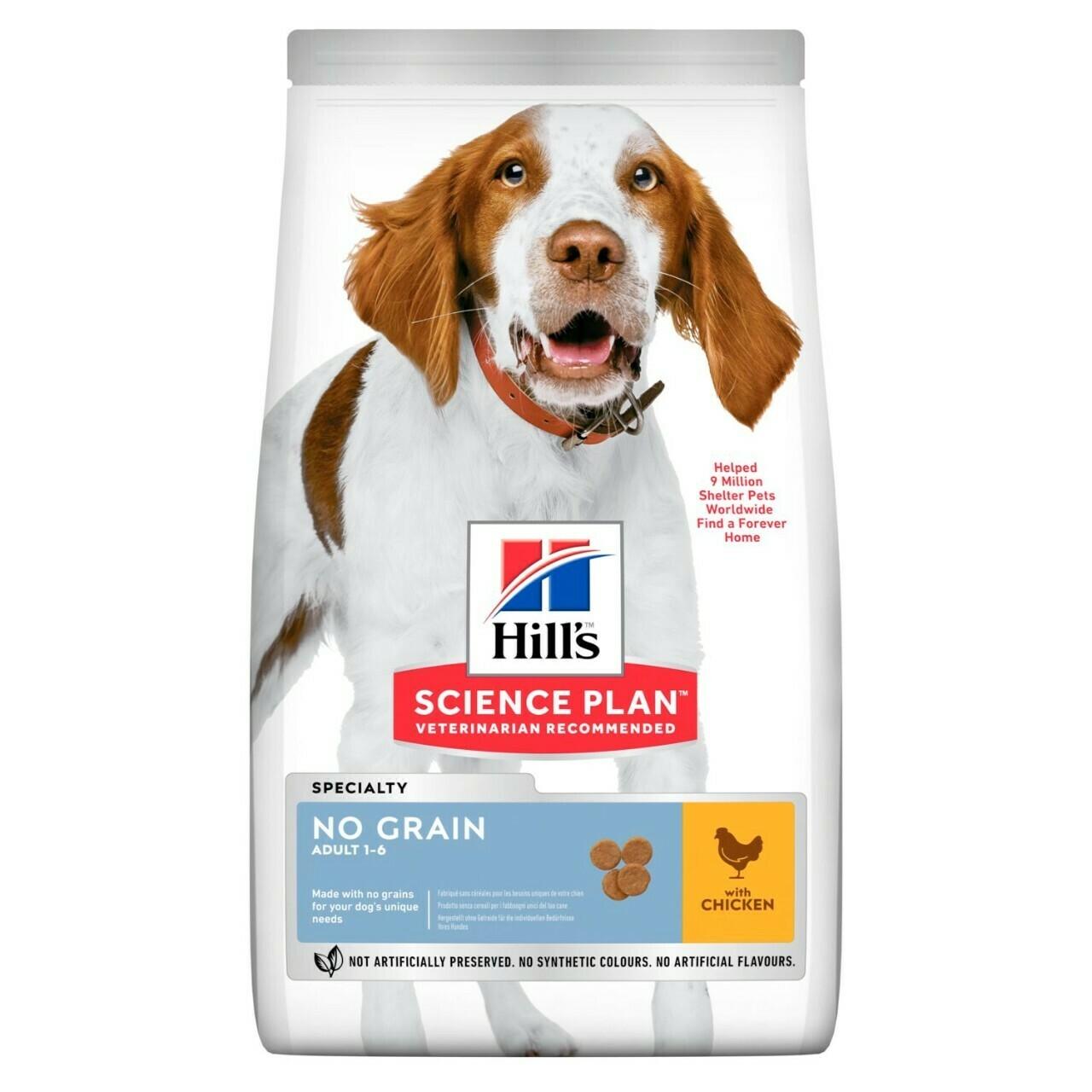 Hill's Science Plan Adult No Grain Chicken Flavour