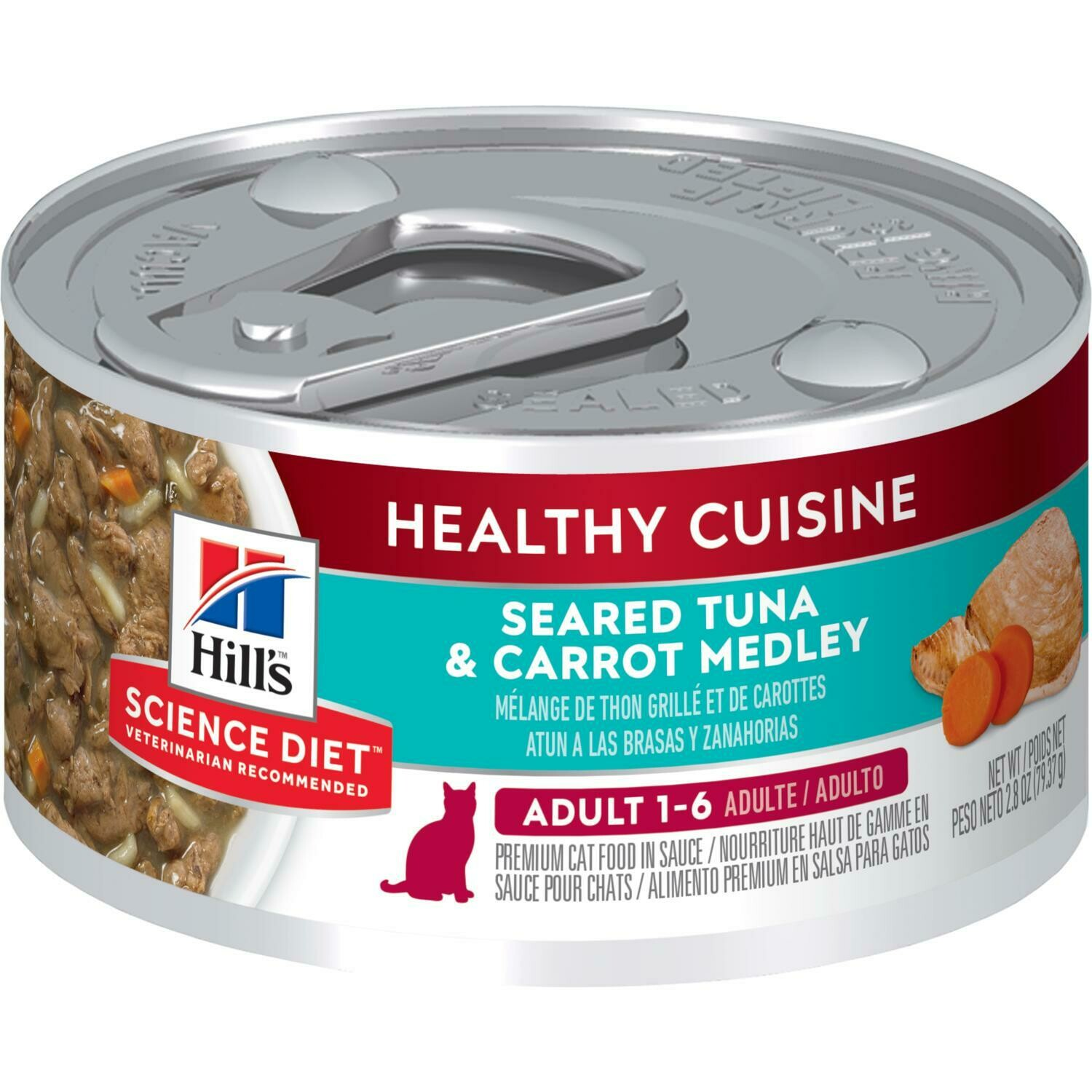 Hill's Science Plan Adult Wet Food Tuna & Carrot Flavour