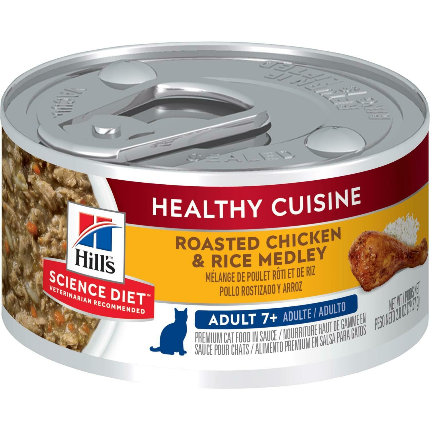 Hill's Science Plan Mature Adult Wet Food Chicken & Rice Flavour