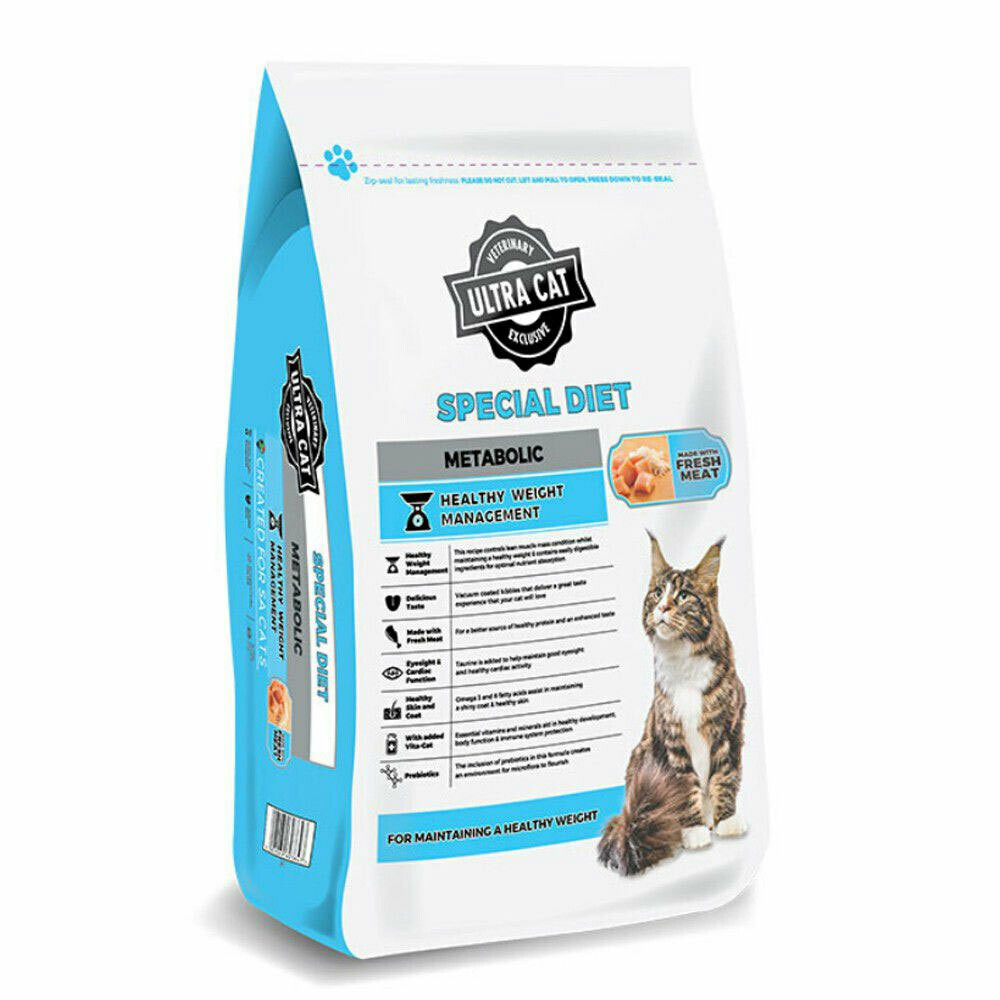Ultra Cat Special Diet Metabolic Dry Food Chicken & Rice Flavour