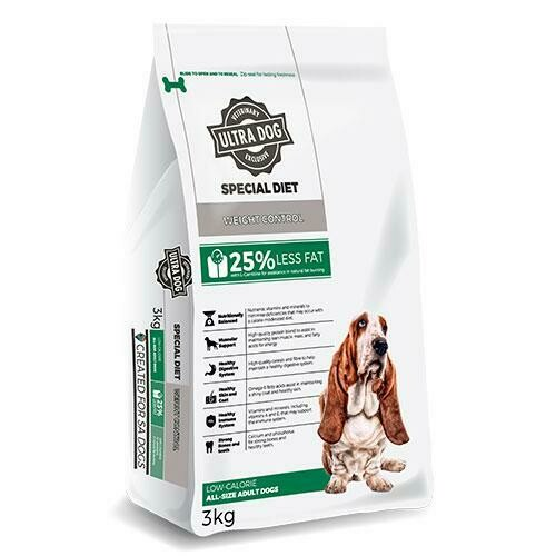 Ultra Dog Special Diet Weight Control Low Calorie