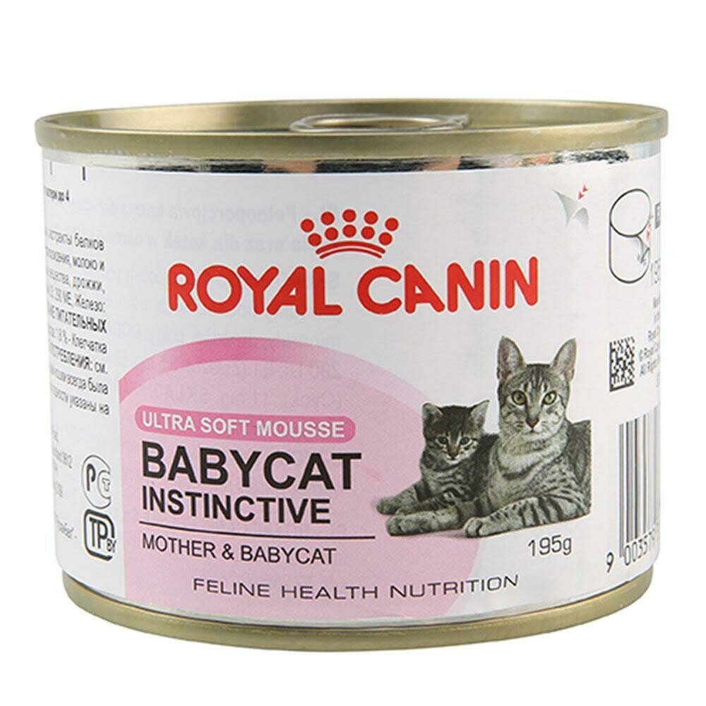 Royal Canin Mother & Babycat Wet Food (12x195g)