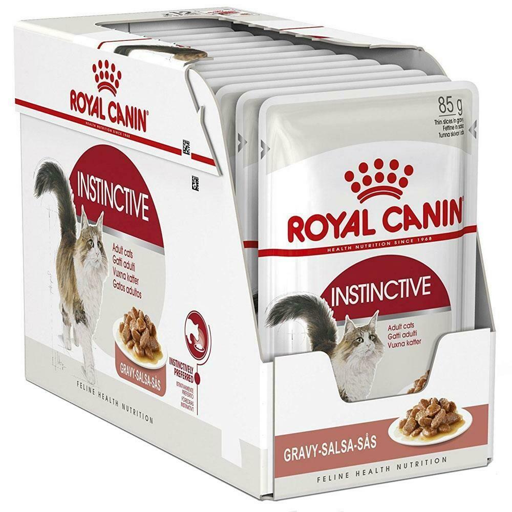 Royal Canin Feline Instinctive in Gravy Wet Food (12x85g)