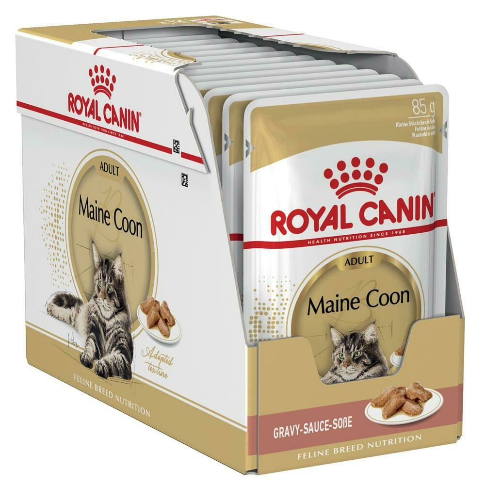 Royal Canin Maine Coon Adult Wet Food (12x85g)