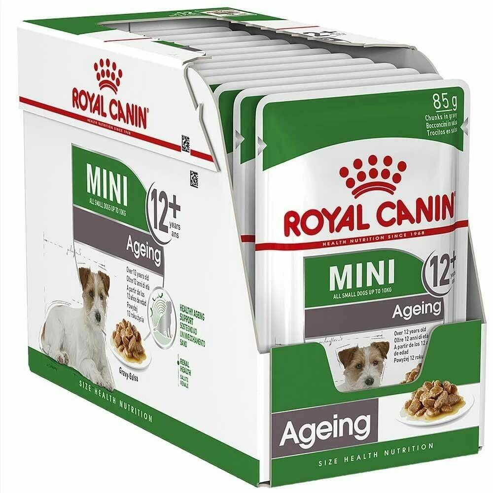 Royal Canin Mini Ageing 12+ Wet Food (12x85g)