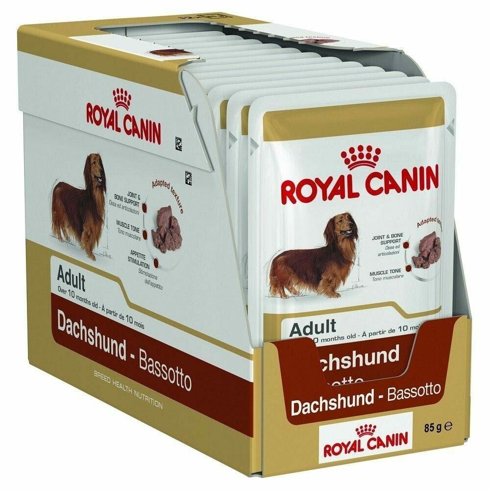 Royal Canin Dachshund Adult Wet Food (12x85g)
