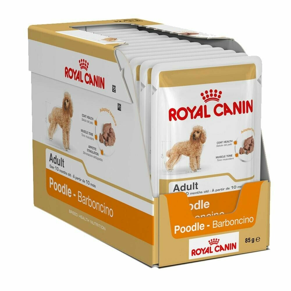 Royal Canin Poodle Adult Wet Food (12x85g)