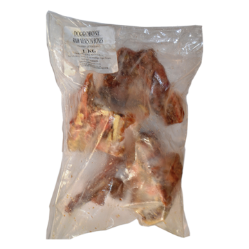 Doggobone Ostrich Bones Whole Raw Food