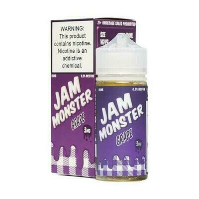 Jam Monster Grape 6mg 100ml Vape Juice
