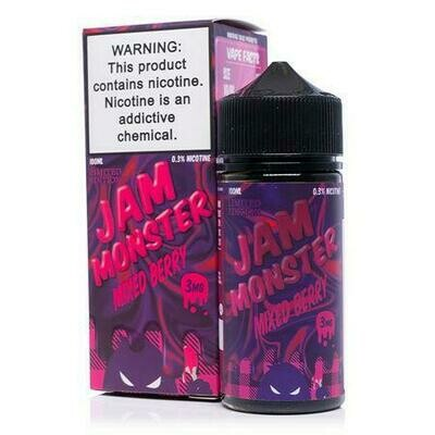 Jam Monster Mixed Berry 6mg 100ml Vape Juice