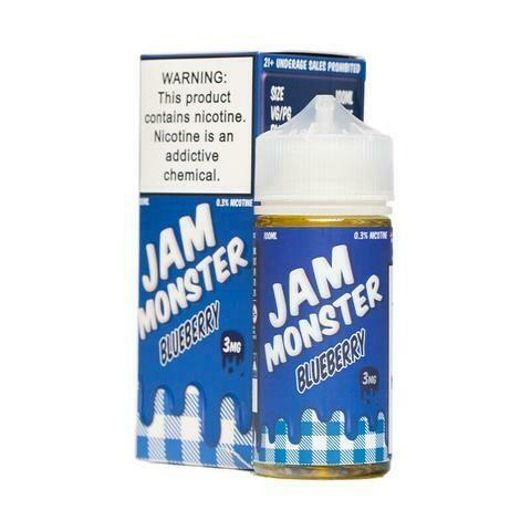 Jam Monster Blueberry Jam 3mg 100ml Vape Juice