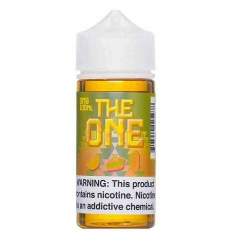 The One Lemon Crumble Tart 0mg 100ml Vape Juice